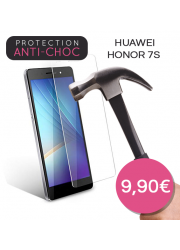 Protection en verre trempé pour Huawei Honor 7S