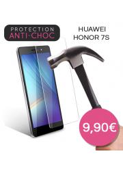 Protection en verre trempé pour Huawei Honor 7S