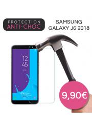 Protection en verre trempé pour Samsung Galaxy J6 2018