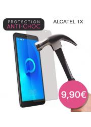 Protection en verre trempé pour Alcatel 1X