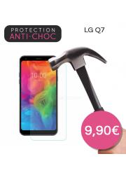 Protection en verre trempé pour LG Q7