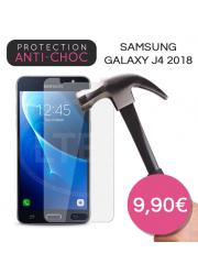 Protection en verre trempé pour Samsung Galaxy J4 2018