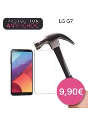 Protection en verre trempé pour LG G7