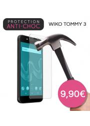 Protection en verre trempé pour Wiko Tommy 3