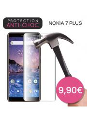 Protection en verre trempé pour Nokia 7 Plus