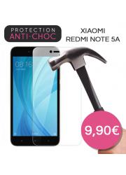 Protection en verre trempé pour Xiaomi Redmi Note 5A