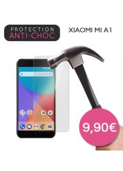 Protection en verre trempé pour Xiaomi Mi A1