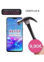 Protection en verre trempé pour OnePlus 6