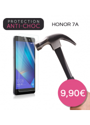 Protection en verre trempé pour Honor 7A