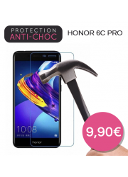 Protection en verre trempé pour Honor 6C Pro