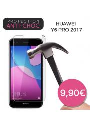 Protection en verre trempé pour Huawei Y6 Pro 2017