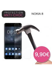 Protection en verre trempé pour Nokia 8