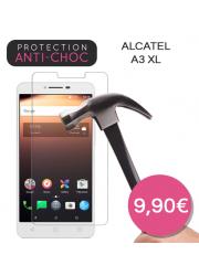 Protection en verre trempé pour Alcatel A3 XL