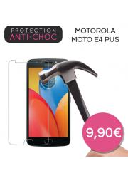 Protection en verre trempé pour Motorola Moto E4 +