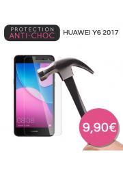 Protection en verre trempé pour Huawei Y6 2017