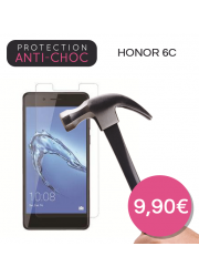 Protection en verre trempé pour Huawei Honor 6C
