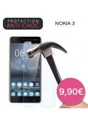 Protection en verre trempé pour Nokia 3