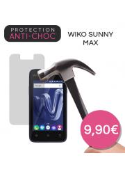 Protection en verre trempé pour Wiko Sunny Max
