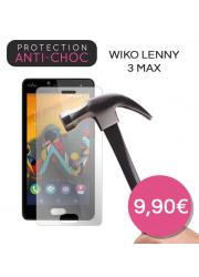 Protection en verre trempé pour Wiko Lenny 3 Max