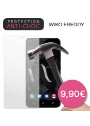 Protection en verre trempé pour Wiko Freddy