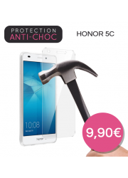Protection en verre trempé pour Huawei Honor 5C
