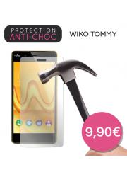 Protection en verre trempé pour Wiko Tommy