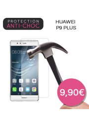Protection en verre trempé pour Huawei P9 Plus
