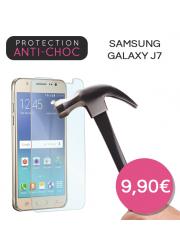 Protection en verre trempé pour Samsung Galaxy J7