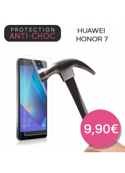 Protection en verre trempé pour Huawei Honor 7