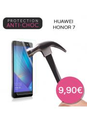 Protection en verre trempé pour Huawei Honor 7