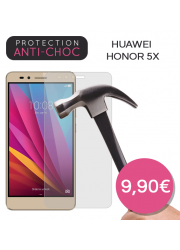 Protection en verre trempé pour Huawei Honor 5X