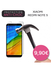 Protection en verre trempé pour Xiaomi Redmi Note 5