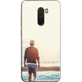 Coque silicone Xiaomi Pocophone F1 personnalisée