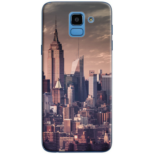 Silicone Samsung Galaxy J6 plus 2018 personnalisée