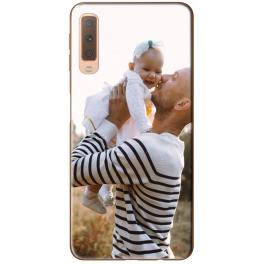Silicone Samsung Galaxy A7 2018 personnalisée