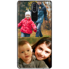 Coque silicone Nokia 8 Sirocco personnalisée