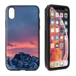Coque portefeuille anti paiement sans contact iPhone XS personnalisée
