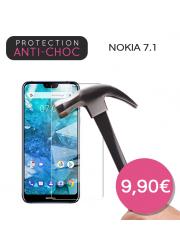 Protection en verre trempé pour Nokia 7.1