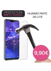 Protection en verre trempé pour Huawei Mate 20 Lite