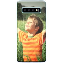 Coque silicone Samsung Galaxy S10 Plus personnalisée