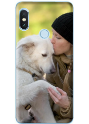 Coque silicone Xiaomi Redmi Note 6 Pro personnalisée