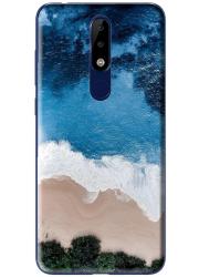 Coque silicone Nokia X5 personnalisée