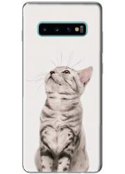Coque silicone Samsung Galaxy S10 personnalisée