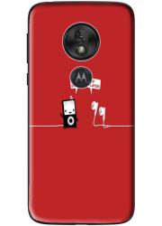 Coque silicone Motorola Moto G7 Play personnalisée