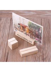 Porte-photos en bois à graver - grand format