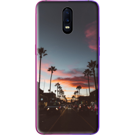 Silicone Oppo R17 personnalisée