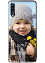 Silicone Samsung Galaxy A70 personnalisée