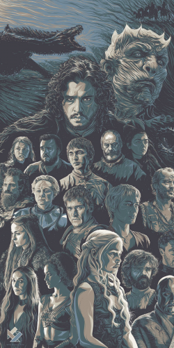 Coque Game of Thrones Personnages