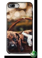 Coque BIO iPhone 7 personnalisée (noire)