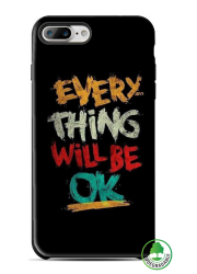Coque BIO iPhone 8 personnalisée (noire)